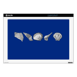 """Shell Art - Choose Your Color Decal For 17"""" Laptop"""
