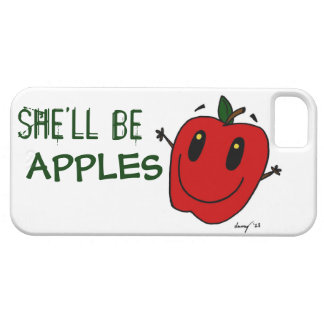 SHE'LL BE APPLES iPhone 5 Case