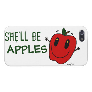 SHE'LL BE APPLES iPhone 5 Savvy Case