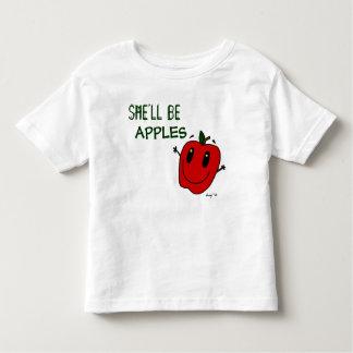 SHE'LL BE APPLES Toddler T-Shirt