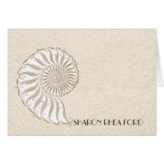 Shell Beach Notecard