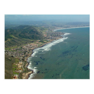 Shell Beach/Pismo Beach Aerial View Postcard