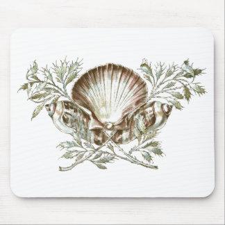 Shell blanco mousepads