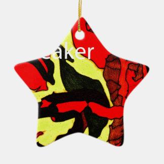 Shell Breaker Design Ceramic Ornament