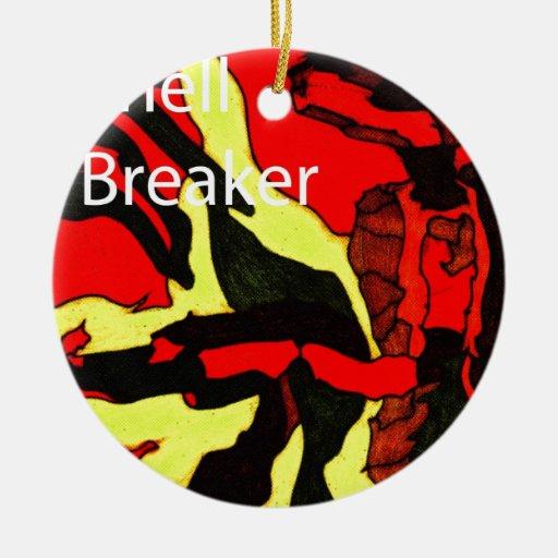 Shell Breaker Design Christmas Ornaments