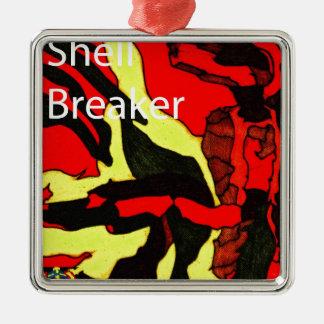 Shell Breaker Design Metal Ornament
