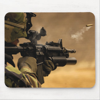 Shell Casing Fired from an M-4 Rifle Mouse Pad