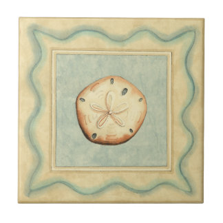 Shell Collector Ceramic Tile