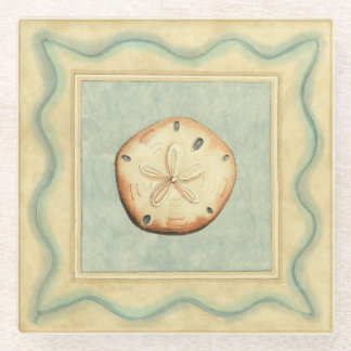 Shell Collector Glass Coaster