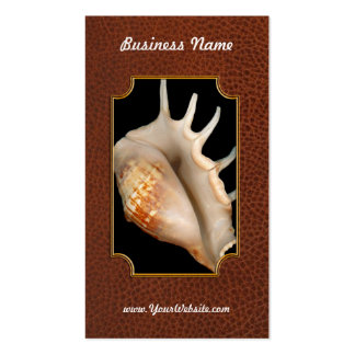 Shell - Conchology - Conch Business Card