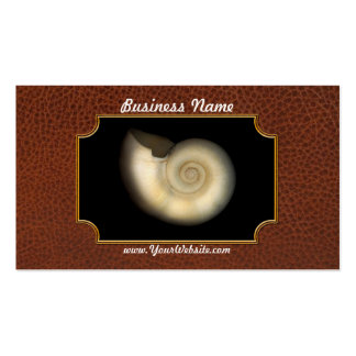 Shell - Conchology - Nautilus Business Card
