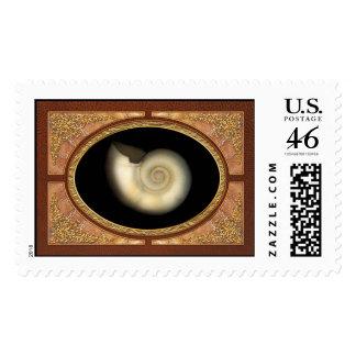 Shell - Conchology - Nautilus Stamp