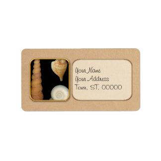 Shell - Conchology - Shells Label