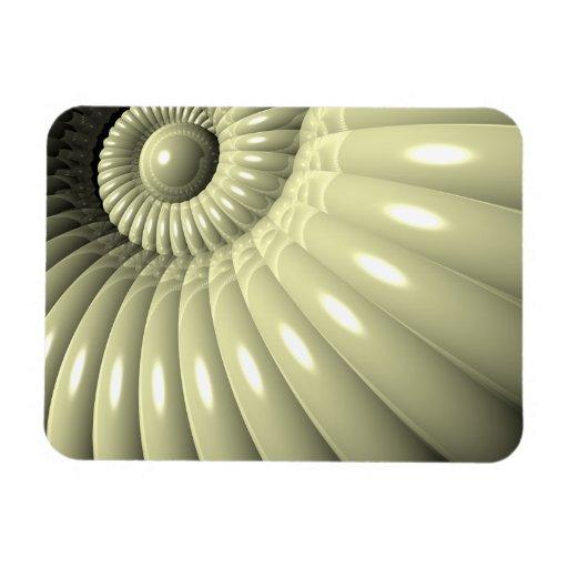 Shell de la repetición imanes de vinilo