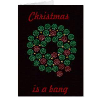 Shell enrruella navidad, es una tarjeta de la expl