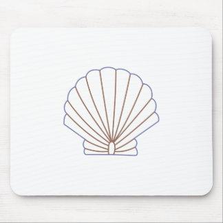 Shell Estitch Applique Mouse Pad