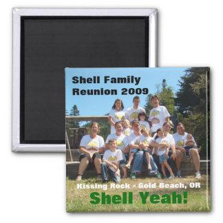 Shell Family Reunion 2009 Magnet