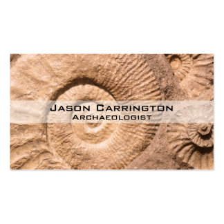 Shell Fossils Business Cards