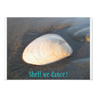Shell Invitations