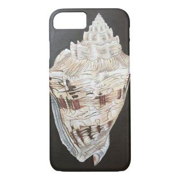 Beach Themed Shell iPhone 7 Case