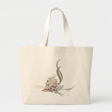 Beach Themed shell large tote bag