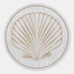 Shell • ¡Modifiqúeme para requisitos particulares! Etiquetas Redondas