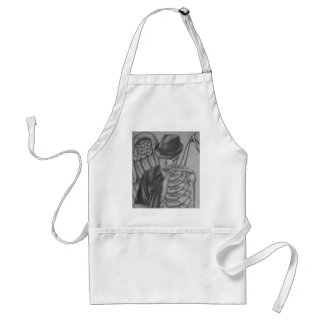 Shell of a Man Adult Apron