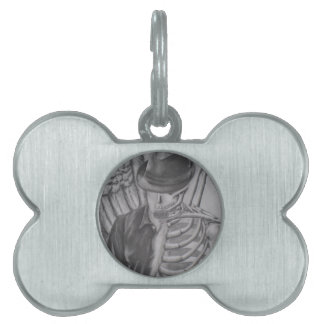 Shell of a Man Pet Name Tag