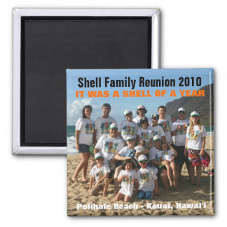 Shell of a Year Magnet