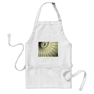 Shell of Repetition Adult Apron