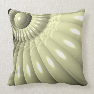 Shell of Repetition Throw Pillows