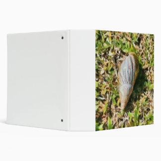 Shell on a beach binder