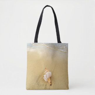 Shell On Beach | Jamaica Tote Bag