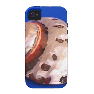 Shell on Blue iPhone 4 Case