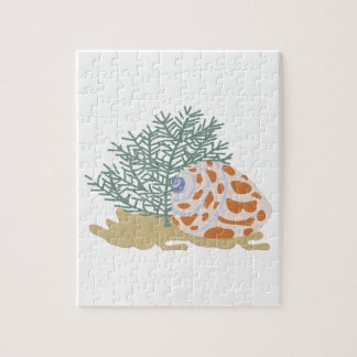 SHELL ON OCEAN FLOOR PUZZLE