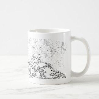 Shell one the beach coffee mug