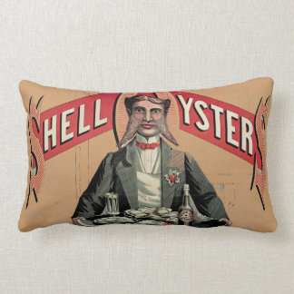 Shell Oysters Pillow