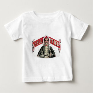 Shell Oysters Vintage Advertisement Baby T-Shirt
