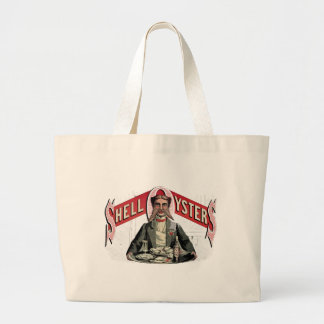 Shell Oysters Vintage Advertisement Bag
