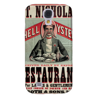 Shell Oysters Vintage Advertisement Galaxy S4 Case