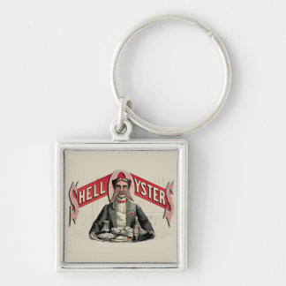 Shell Oysters Vintage Advertisement Keychains