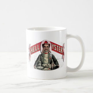 Shell Oysters Vintage Advertisement Mugs