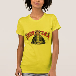 Shell Oysters Vintage Advertisement T Shirts