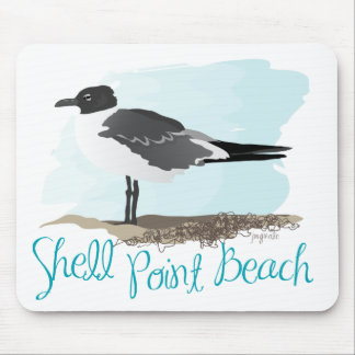 Shell Point Beach Mouse Pad