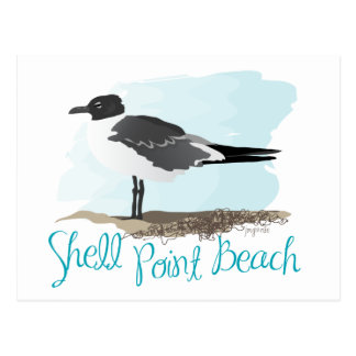 Shell Point Beach Postcard