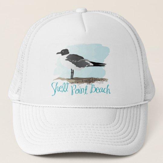 Shell Point Beach Trucker Hat
