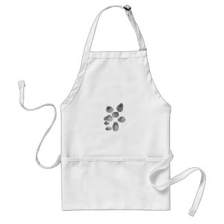 Shell sketch adult apron