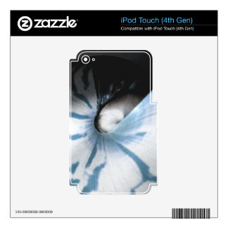 SHELL STUDY BLUE SKIN FOR iPod TOUCH 4G