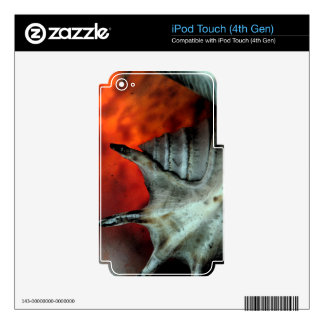 SHELL STUDY DECALS FOR iPod TOUCH 4G