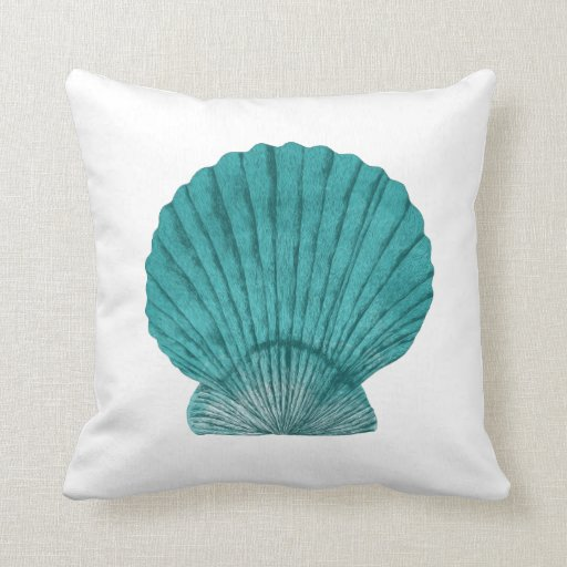 Should I Throw Away Old Pillows : Shell Throw Pillow Zazzle